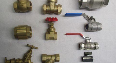 Assorted Valves Anchor Industrial Plastics Derby