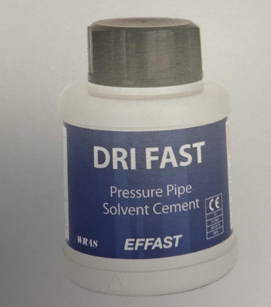 Effast Dri Fast Pressure Pipe Solvent Cement